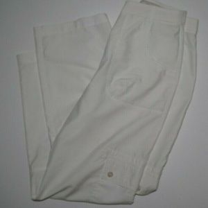 Charter Club Womens Golf White Capri Pants Sz 6